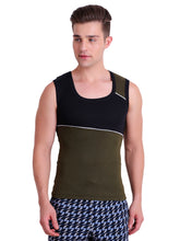 T.T. Men Titanic Designer Gym Vest Pack of 2 (Green - Red)