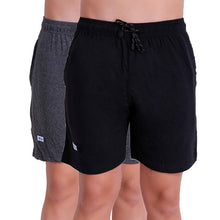 T.T. Mens Cool Bermuda Pack Of 2 Anthra-Black