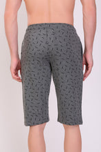 T.T. Men Printed Cotton Capri Anthra