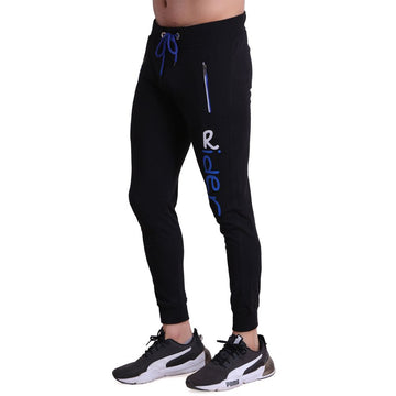 Hiflyers Mens Slimfit Track Pants (Black)