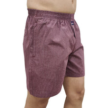 Hiflyers Men Checked Cotton Boxer Short Maroon