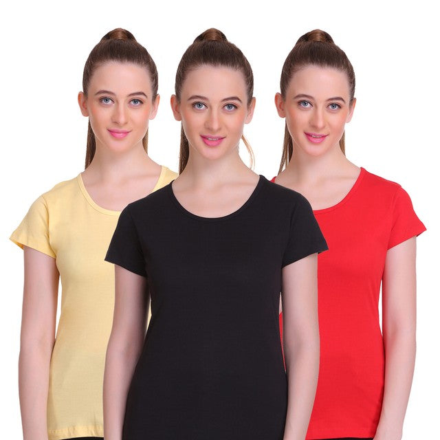 T.T. Womens T shirt - Pack of 3