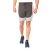 HiFlyers Mens Anthra grey Bermuda