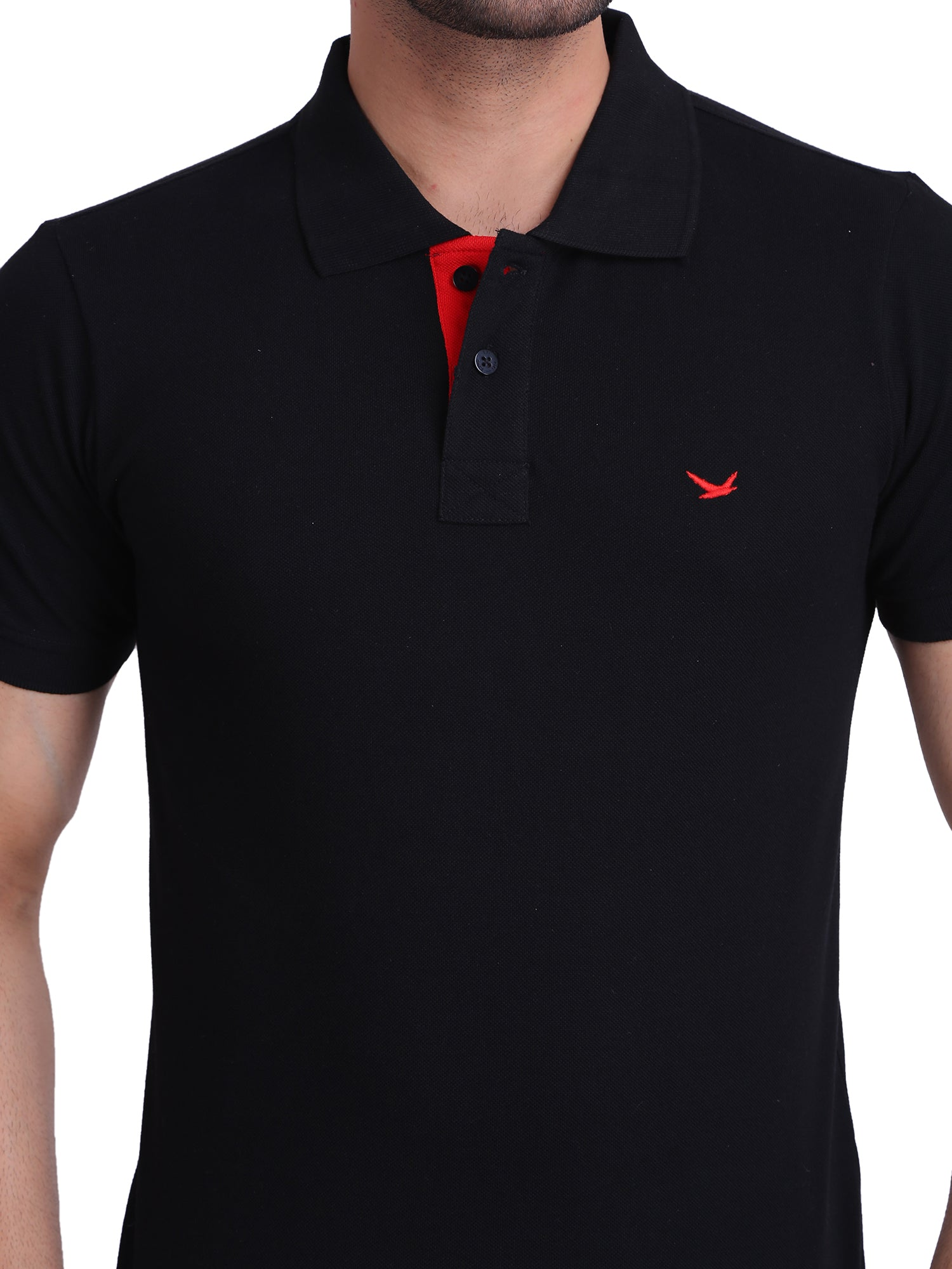 Hiflyers Black Polo T-Shirt