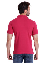 Hiflyers Mens  Fuschia Polo T-Shirt