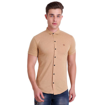 Hiflyers Men Shirts - Beige