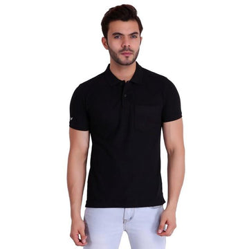 Hiflyers Polo Neck Tshirts Black