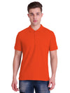 Hiflyers Polo Neck Mens Orange Tshirt with Pocket