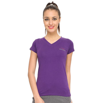 Hiflyers Womens T Shirt Purple