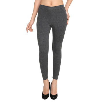 Hiflyers Women Anthra Grey Ankle Length Leggings/ Yoga Pant
