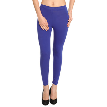 Hiflyers Women Royal Blue Ankle Length Leggings/Yoga Pant
