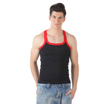 T.T. Men Titanic Gym Vest Black