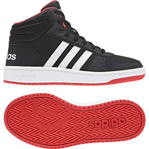 ADIDAS B75743GS SCARPE JUNIOR HOOPS MID GS - Sport One store