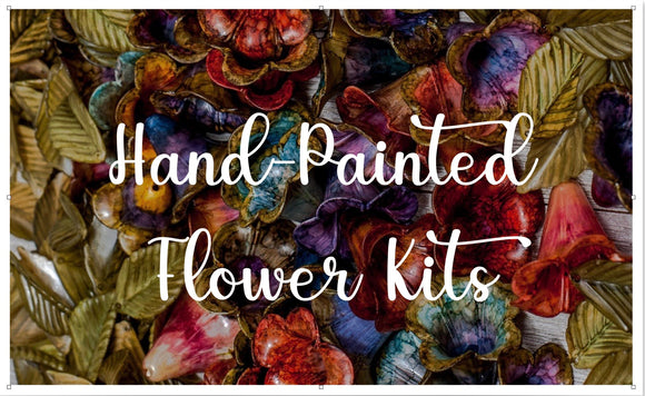 Hand-Painted Flower Kits