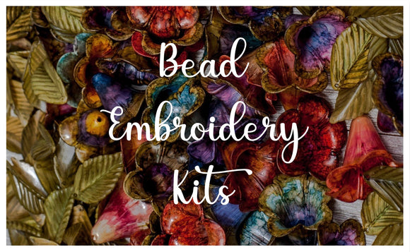 Bead Embroidery Challenge & Inspiration Kits