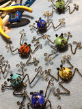 WIRE WRAPPED FROG PINS - Intermediate (Sat. 9/28 @ 1PM)