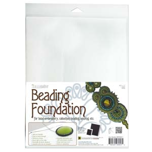 "BeadSmith White Beading Foundation - 8.5"" x 11"" (1 sheet)"