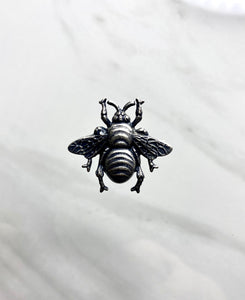 """Queen Bee"" Antique Silver Pendant (31mm x 29mm)"