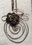 FREEFORM WIREWORK PENDANT