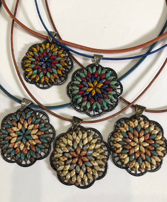 MANDALA PENDANT (Beginner Friendly)