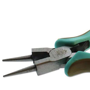 Vintaj Round Nose Pliers with Cutter