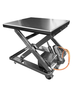 Clean Room Compliant Lift Tables