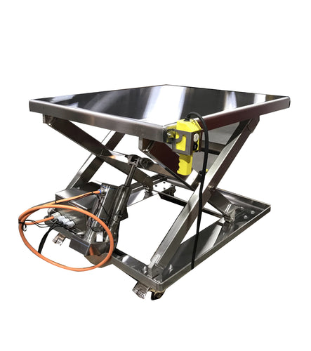 Stainless Steel Electric Lift Tables
