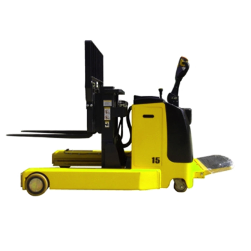 Electric Stacker with Ultra Low Mast