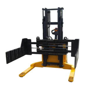 0.5T Electric Straddle Stacker with Bale Clamp
