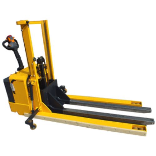 Electric Stacker with Extra Long Legs