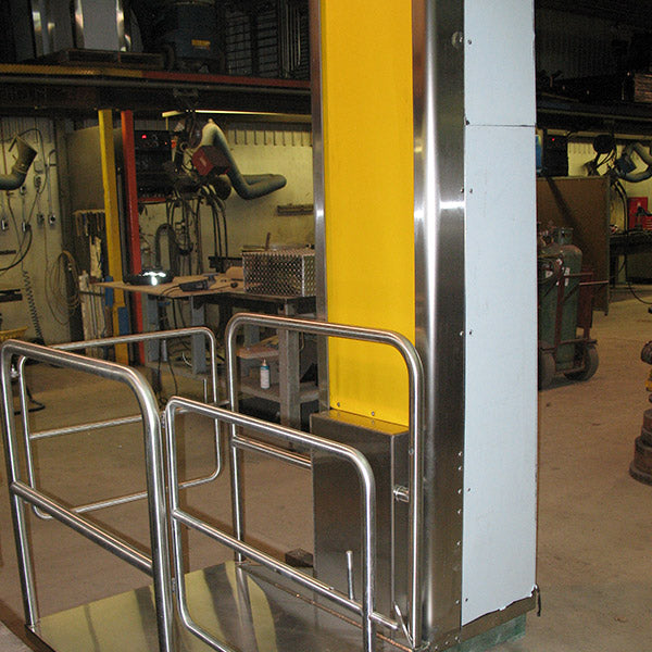 Column Mezzanine Lifts - Superlift Material Handling