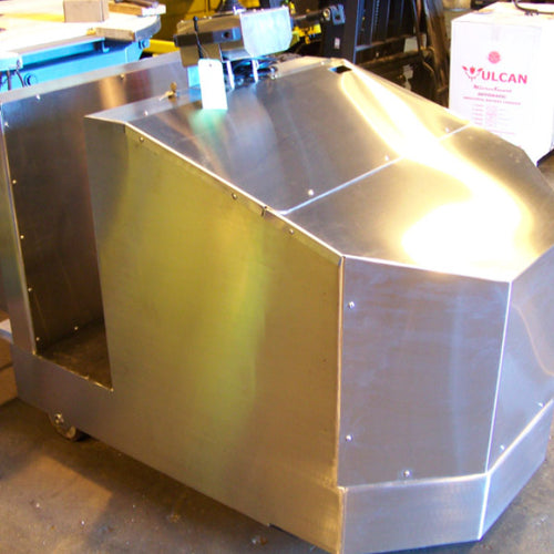 Custom Stainless Steel Tugger - Superlift Material Handling