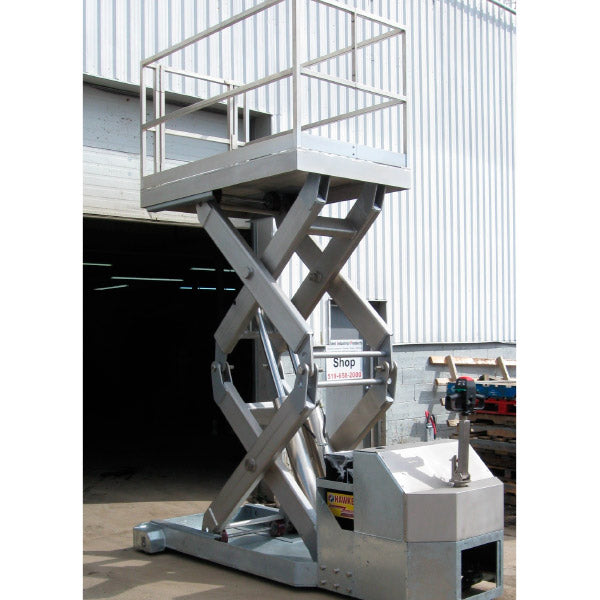Dual Purpose Material Lift and Manlift 10,000lb - Superlift Material Handling
