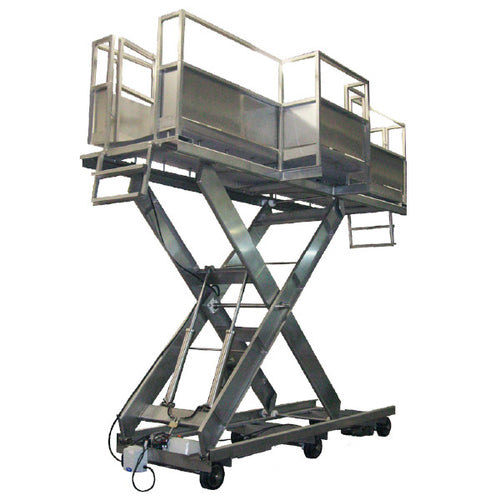 Track Mounted Self Propelled Manlift - Superlift Material Handling
