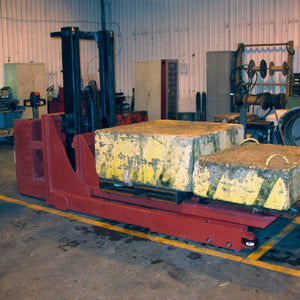 Walk Behind Straddle Truck - Superlift Material Handling