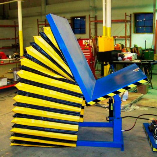 Adjustable Height Parts Tilter - Superlift Material Handling