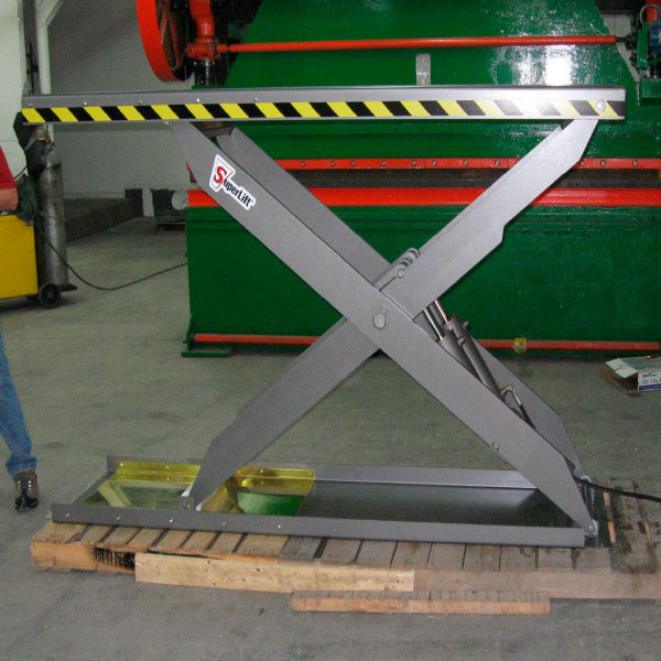Air Over Hydraulic Lift Tables - Superlift Material Handling