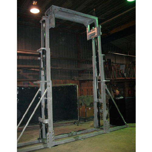 Dual Mast Lift Galvanized - Superlift Material Handling