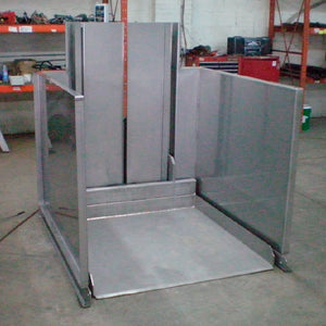 Ground Level Pallet Lift - Superlift Material Handling
