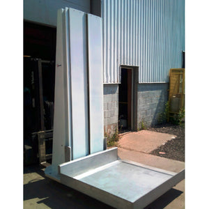 Ground Level Side Loading Column Lift - Superlift Material Handling