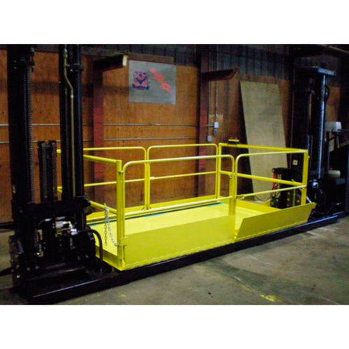 Mezzanine Stationary Manlift - Superlift Material Handling