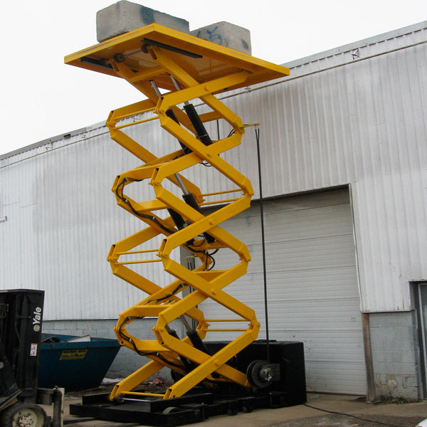 Quad Scissor Lifts - Superlift Material Handling