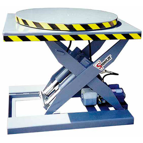Manual and Powered Turntables - Superlift Material Handling