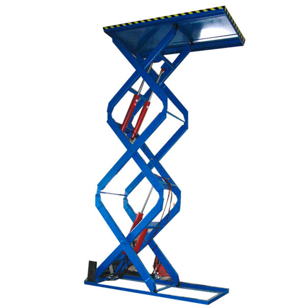 Triple Scissor Lifts - Superlift Material Handling