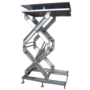 Stainless Steel Double And Triple Lift Table - Superlift Material Handling