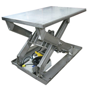 Stainless Steel Lift Table - Superlift Material Handling