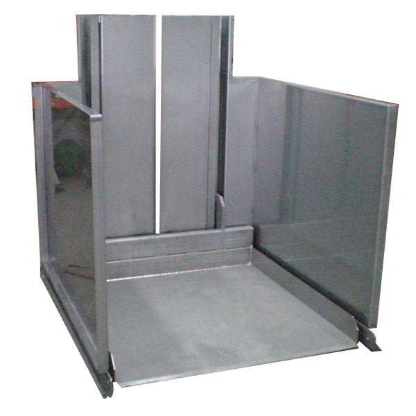 Stainless Steel Ground Level Pallet Positioner - Superlift Material Handling