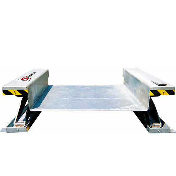 Stainless Steel Ground Level Scissor - Superlift Material Handling