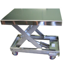 Load image into Gallery viewer, Stainless Steel Portable Lift Table - Superlift Material Handling