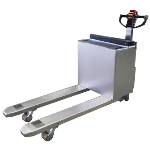 Stainless Steel Powered Pallet Truck - Superlift Material Handling